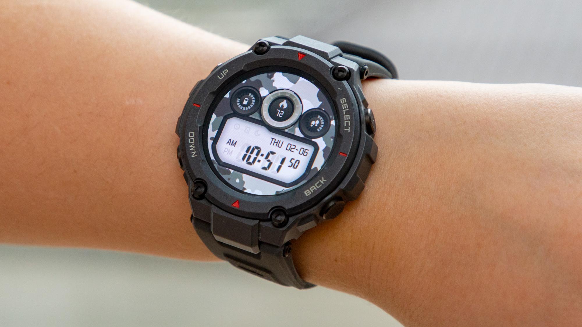 Los mejores relojes deportivos: Amazfit T-Rex