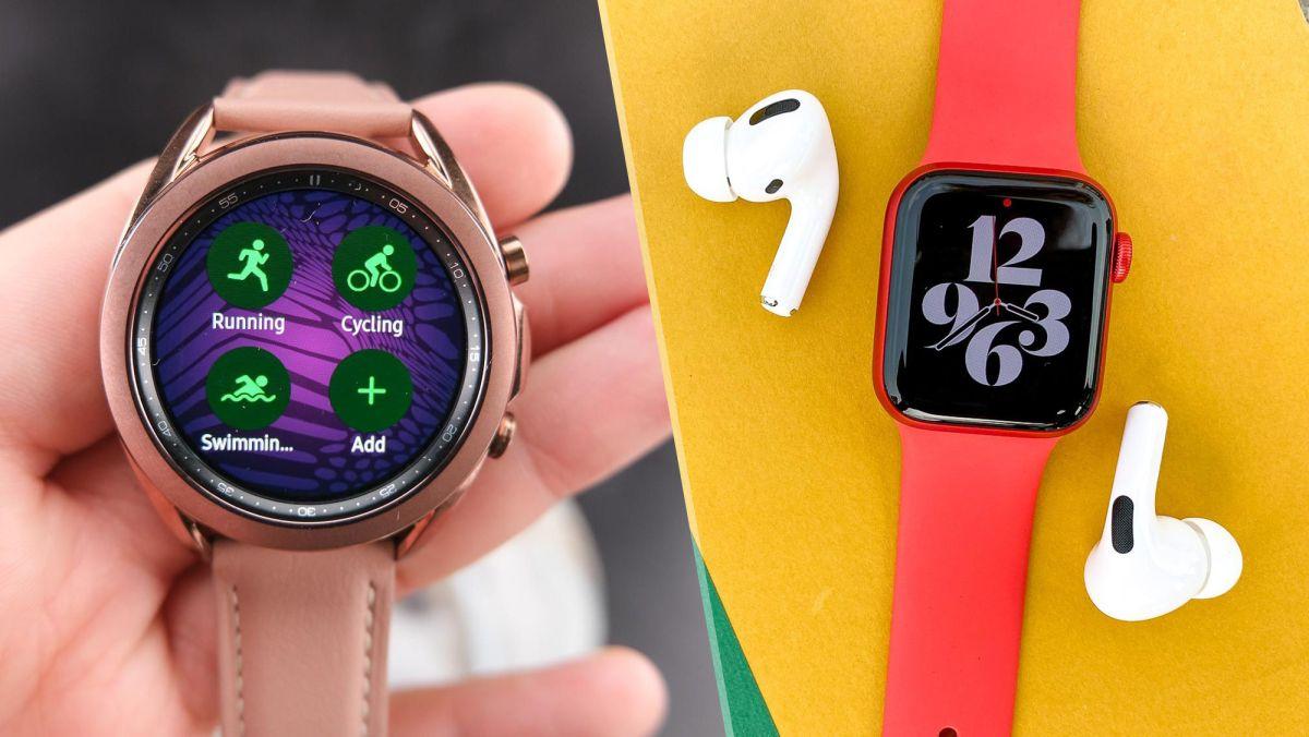 Apple Watch 6 vs.Samsung Galaxy Watch 3: ¿Qué reloj inteligente es mejor?
