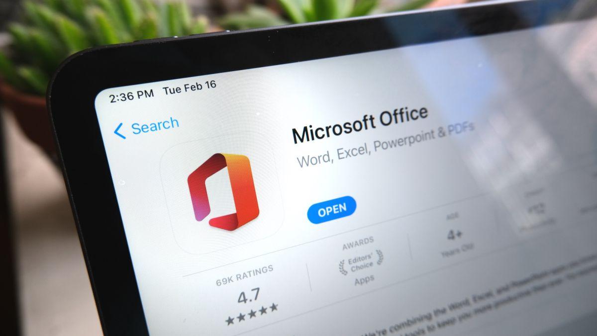 Microsoft Office finalmente está en el iPad