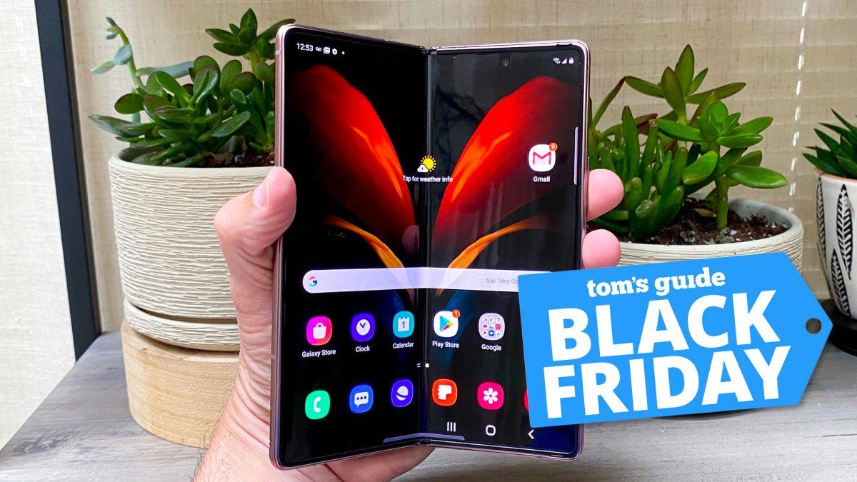 Oferta de teléfono épica del Black Friday: obtenga el Galaxy Z Fold 2 con un 50% de descuento ahora