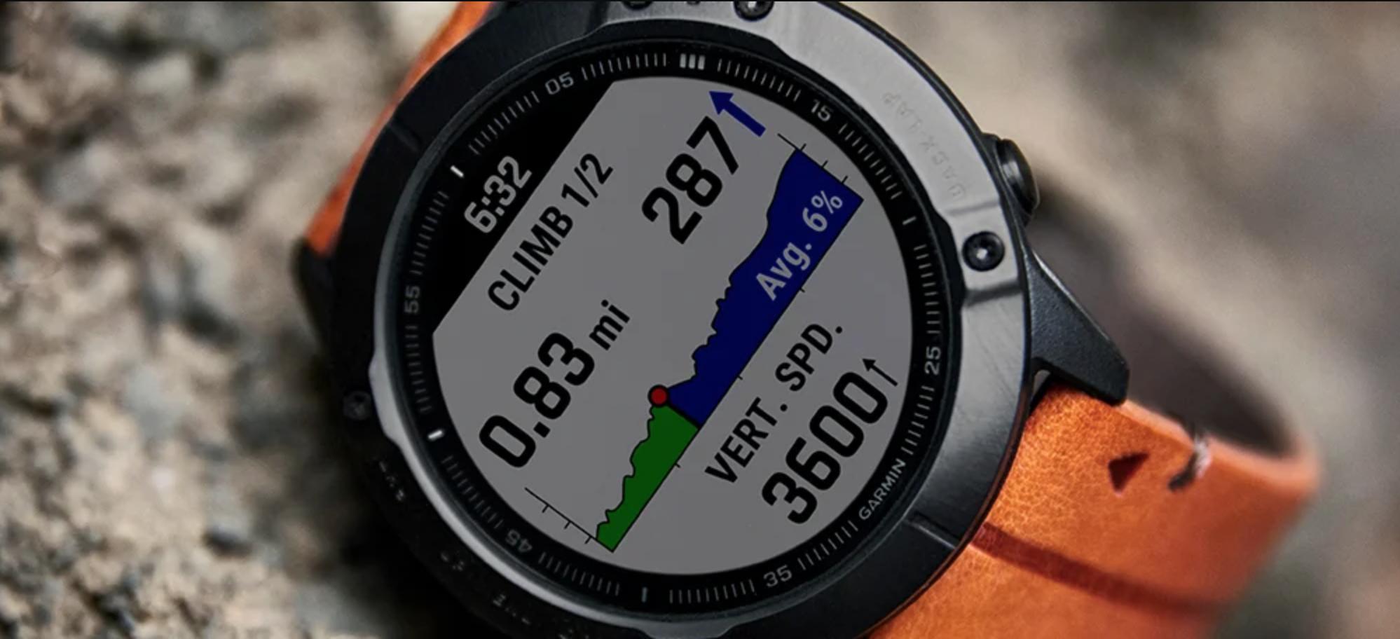 mejores relojes deportivos: Garmin fenix 6